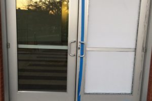 Aluminum Door Repair